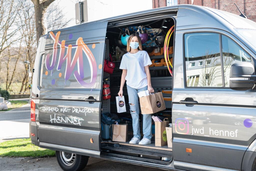Lichtbildnisse Foto Ferienprogramm für Kinder in Hennef JWD, Ersatzprogramm Osterferien, JWD Bus